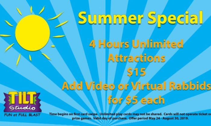 $15 VR Summer Special