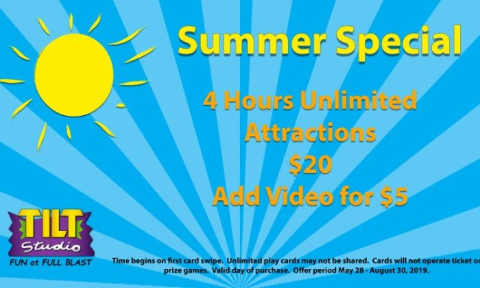 $20 Summer Special Indy