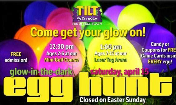 Egg Hunt Saturday April 15th