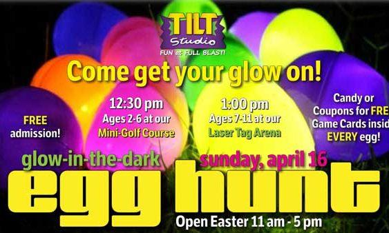 Egg Hunt sunday April 16