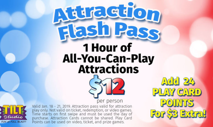 MLK Attraction Flash Pass