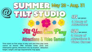 Summer at Tilt Studio