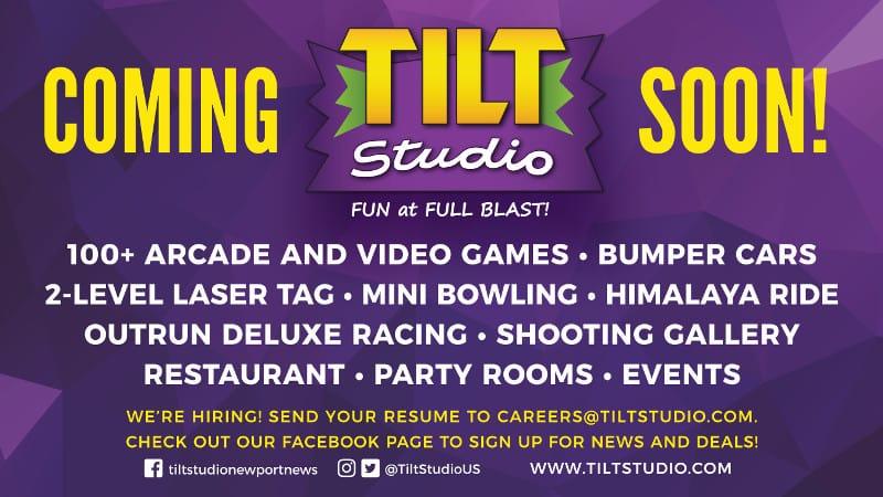 Newport News Va Tilt Studio