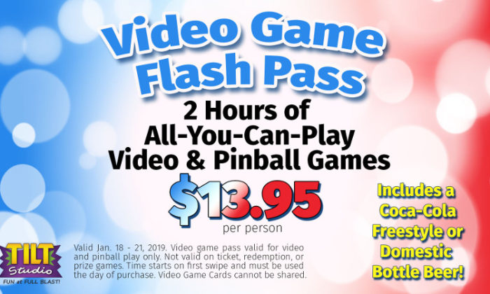MLK Video Game Flash Pass