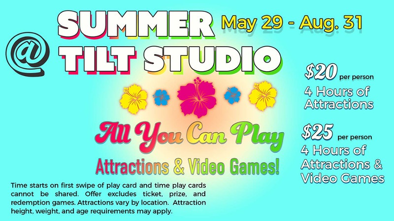 Summer at Tilt Studio