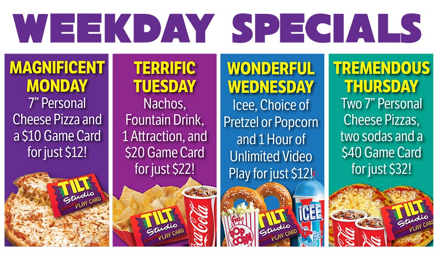 Weekly Specials Gurnee